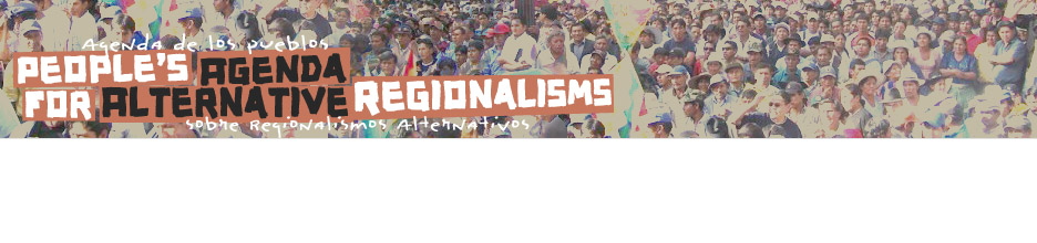 People's Agenda for Alternative Regionalisms